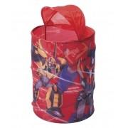 Porta Objetos Infantil Transformers Organizador de Brinquedos
