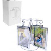 Porta Retrato Giratório Pêndulo para 8 Fotos 10x15cm