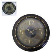 Relógio de Parede Grande Decorativo Vintage 38cm Diâmetro