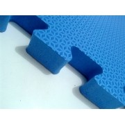 Tatame Tapete EVA Com Borda 50 X 50 X 2cm Azul Royal