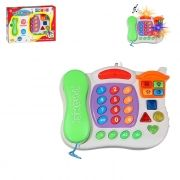 Telefone Infantil Musical 24 Teclas Sons e Luzes