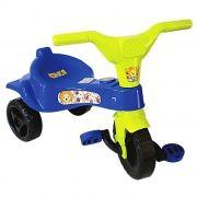 Triciclo Infantil Velotrol Motoca Meninos cor Azul Omotcha