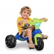 Triciclo Motoca Velotrol Bandeirante Kid Cross Azul