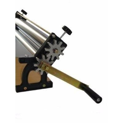 Cilindro De Massa E Macarrão Super Doro Rolos Cromados 35cm