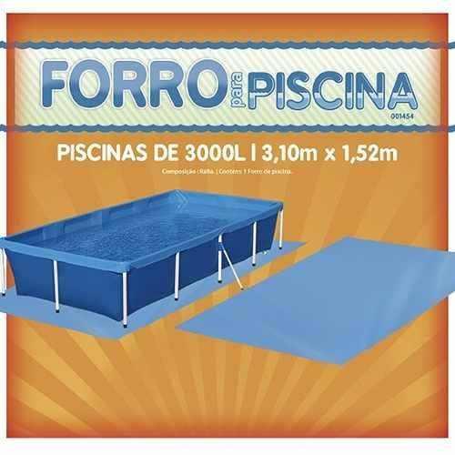 Forro Para Piscina 3000l - Mor