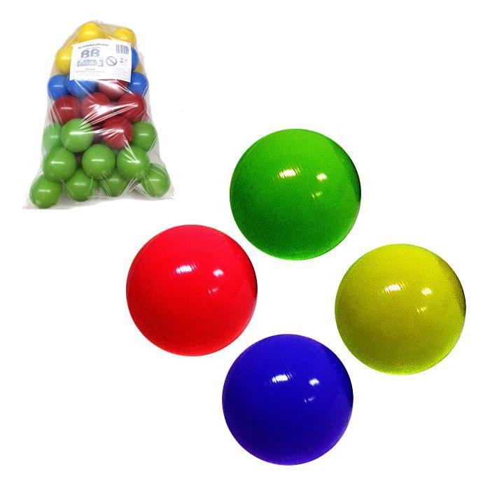 50 Bolinhas Coloridas Ideal para Piscina de Bolinhas