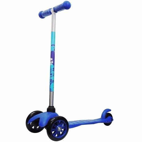 Patinete Infantil 3 Rodas Twist Freio Azul