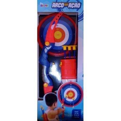 Arco E Flecha Infantil Brinquedo Seguro Certificado Inmetro