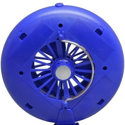 Ventilador Fan Com Luminária Para Barraca Camping Nautika