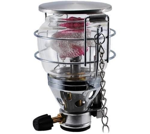 Lampião Á Gás Cairo Nautika 100w Com Acendedor Automático