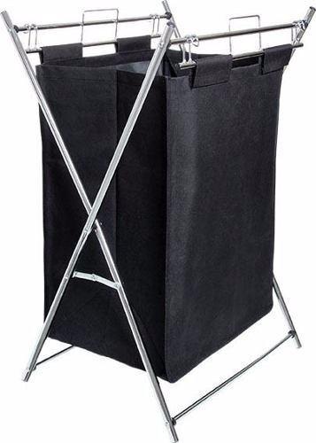 Cesto De Roupas Sujas Para Lavandeira Modelo Aço Utilitá