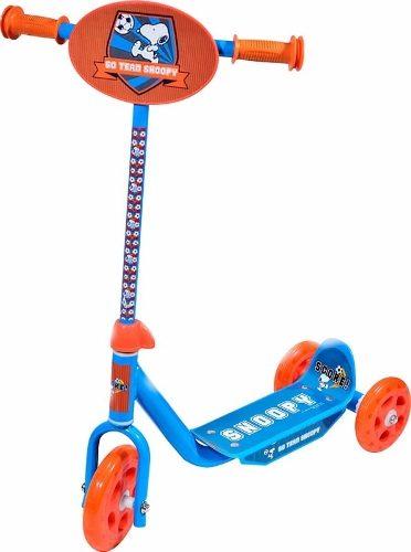 Patinete Infantil 3 Rodas Snoopy Groovy Cor Azul