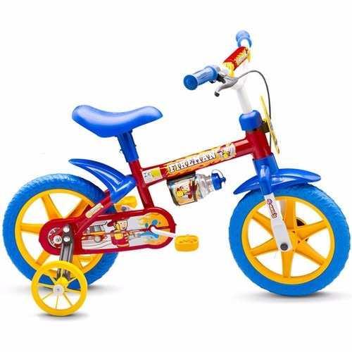 Bicicleta Infantil Fire Man Nathor Aro 12