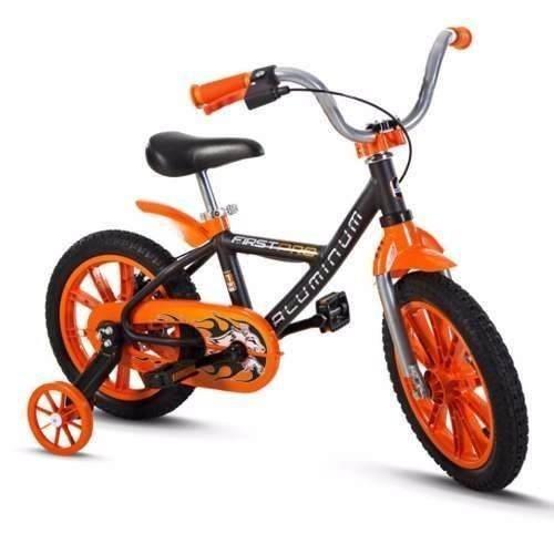 Bicicleta Aro 14 First Pro Quadro De Aluminio Nathor