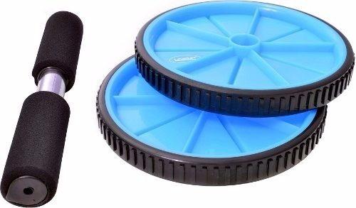 Roda De Exercícios Para Abdominal Azul Liveup