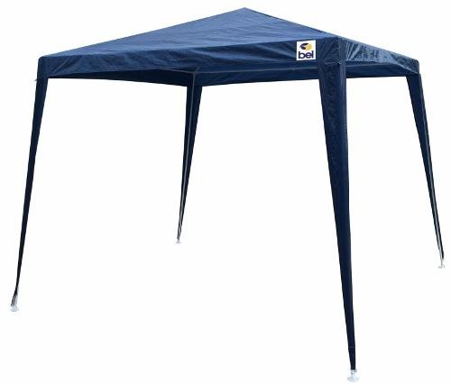 Tenda Gazebo Estrutural Base 3x3m Topo 2,40x2,40m Azul