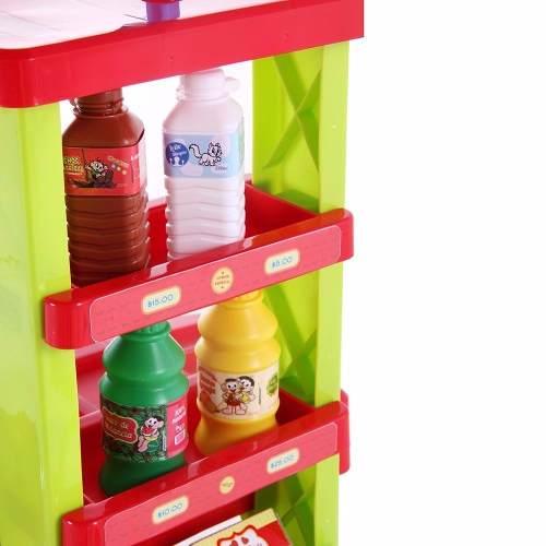 Mercadinho Turma Da Mônica Brinquedo Infantil Bel Fix