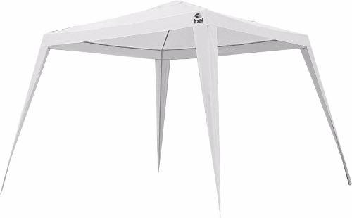 Tenda Gazebo Bel Fix Tubular 3x3 Base 2,40x2,40 Topo Branca