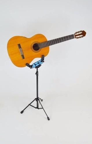 Pedestal Suporte Para Violão Guitarra Com Regulagem Altura