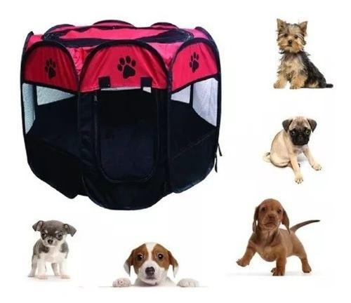 Cercado Dobrável Para Pets Cães Gatos Ideal Para Viagens
