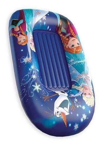 Bote Inflável Infantil Frozen 120cm X 80cm