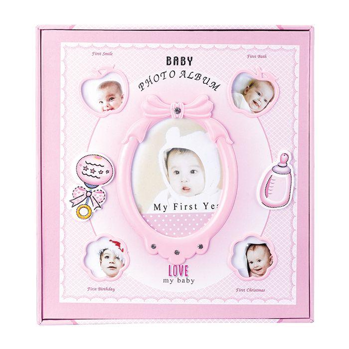Álbum de Fotos Bebê Infantil 120 Fotos 15x10cm