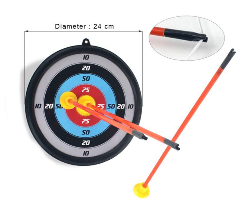 Arco e Flecha Infantil com Alvo e Luzes