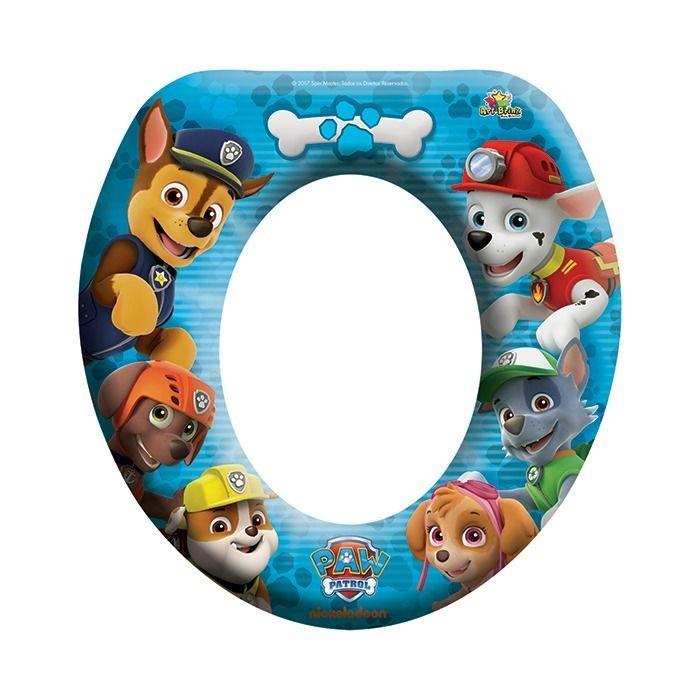 Assento Sanitário Infantil Redutor Patrulha Canina