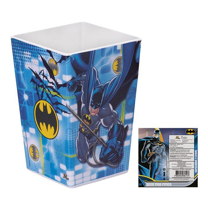 Balde de Pipoca Batman 2 Litros