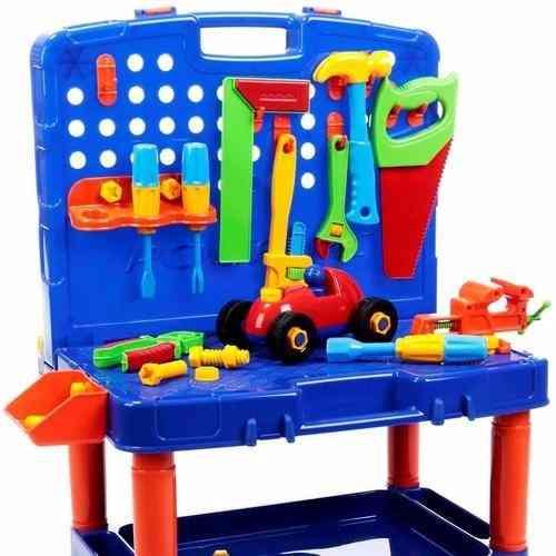 Bancada Kit de Ferramentas Infantil Poliplac