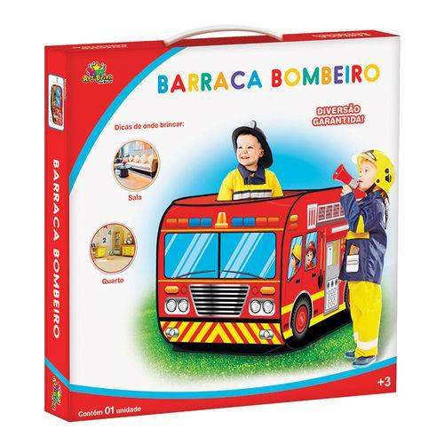 Barraca Barraquinha Infantil Caminhão de Bombeiro