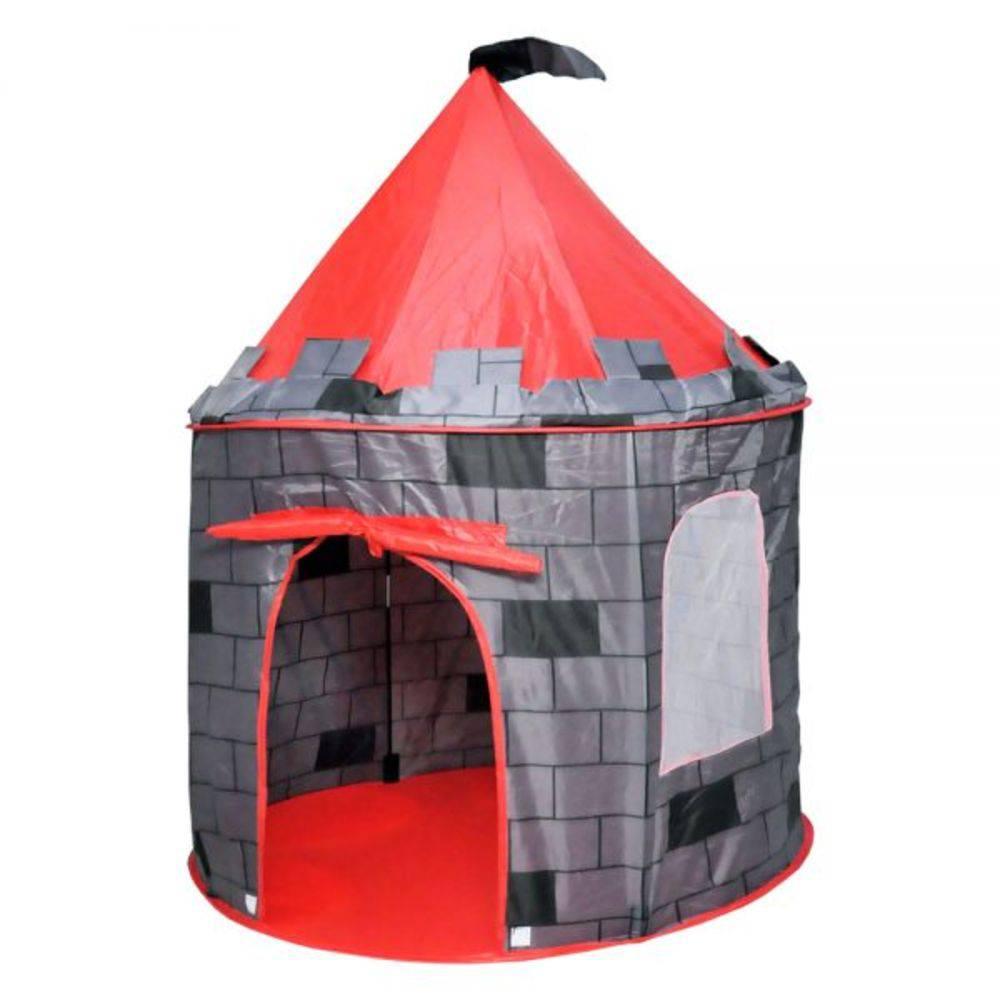 Barraca Barraquinha Infantil Dobrável Castelo Torre