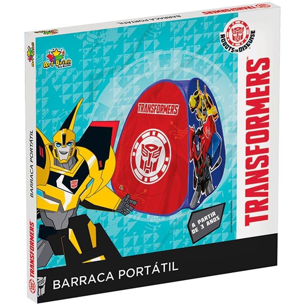 Barraca Infantil Portátil Transformers Barraquinha Criança