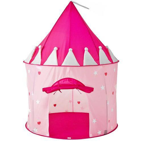 Barraquinha Barraca Infantil Dobrável Castelo das Princesas