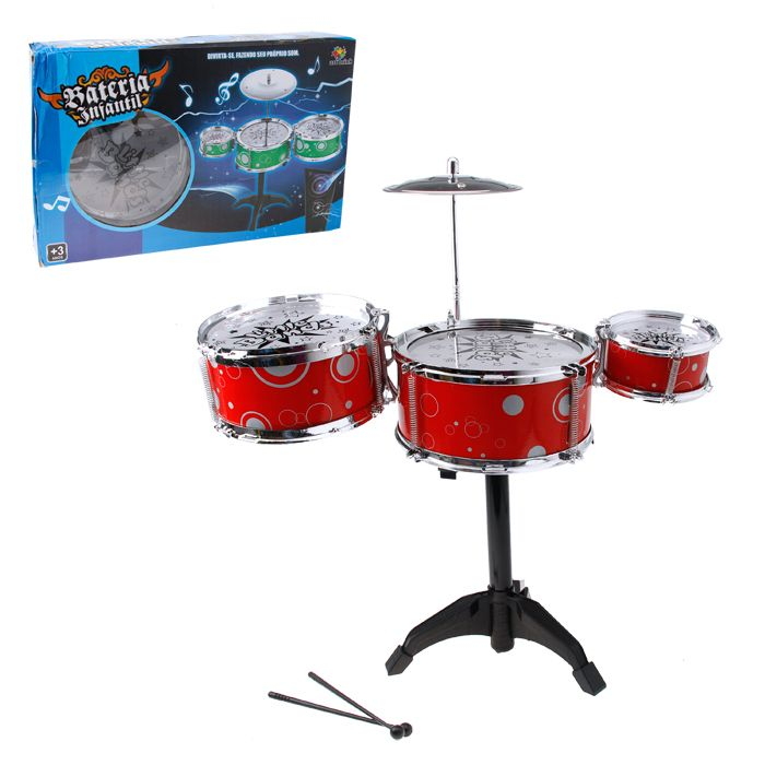 Bateria Infantil Musical Little Bands Junior