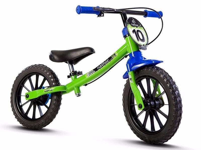 Bicicleta Infantil Balance Nathor Meninos