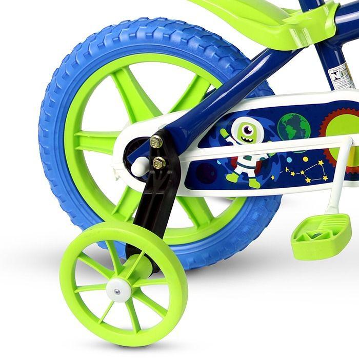 Bicicleta Infantil Space Aro 12 Meninos Nathor