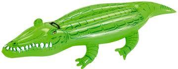 Boia Infantil em Formato de Crocodilo