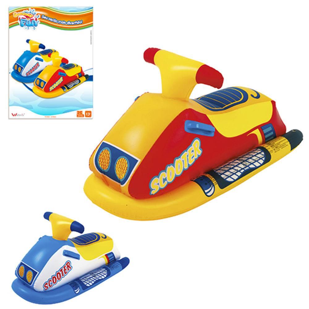 Boia Infantil Inflável Modelo Jet Ski