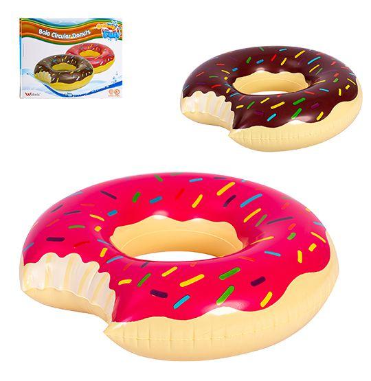 Boia Inflável de Cintura Donuts 120cm