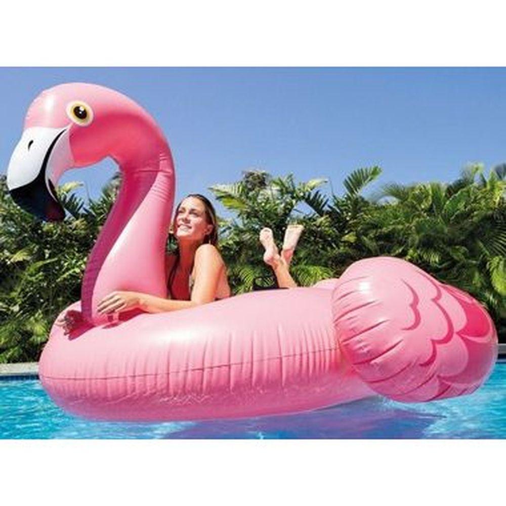 Boia Mega Flamingo Gigante Adulto