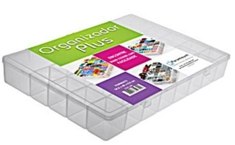 Box Caixa Organizadora Plus com 34 Divisórias Paramount