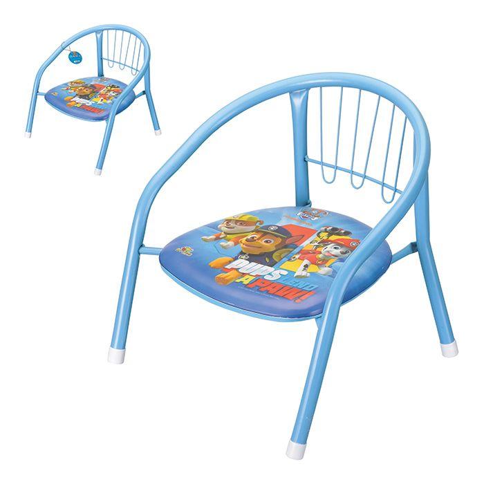 Cadeira Infantil em Metal Patrulha Canina