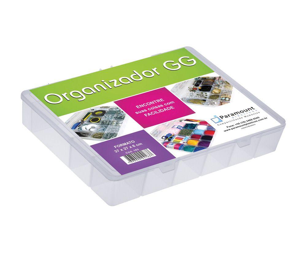 Caixa Maleta Organizadora com Divisórias Internas GG