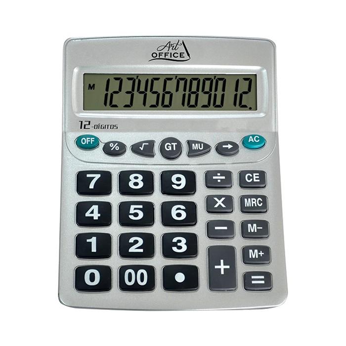 Calculadora Digital de Mesa 12 Dígitos