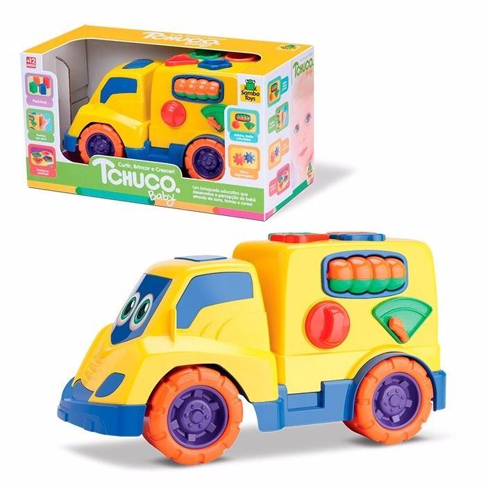 Caminhão Educativo Judy Baby com Peças para Encaixe