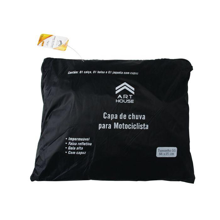 Capa Roupa de Chuva para Motoqueiro Motociclista Jaqueta Calça