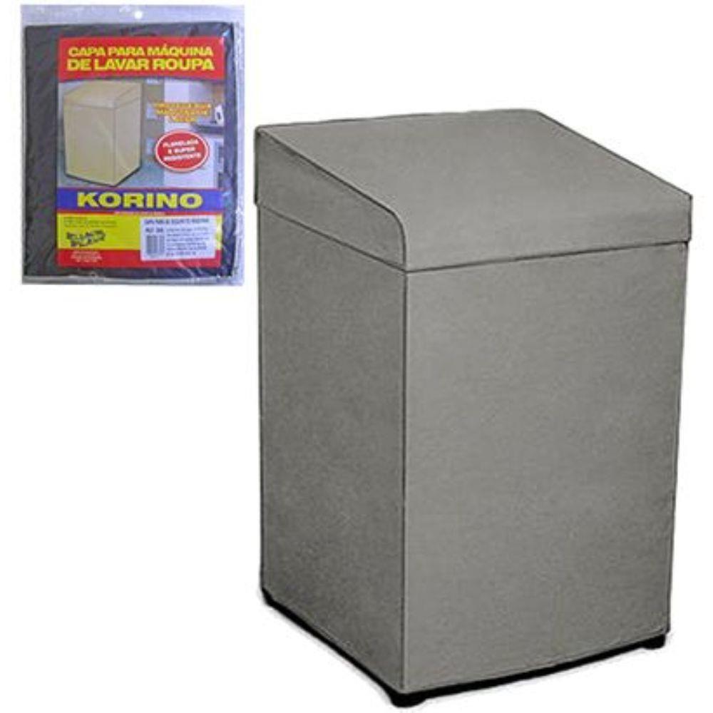Capa para Máquina de Lavar Roupa Flanela Clean Brastemp Consul Eletrolux ref 32