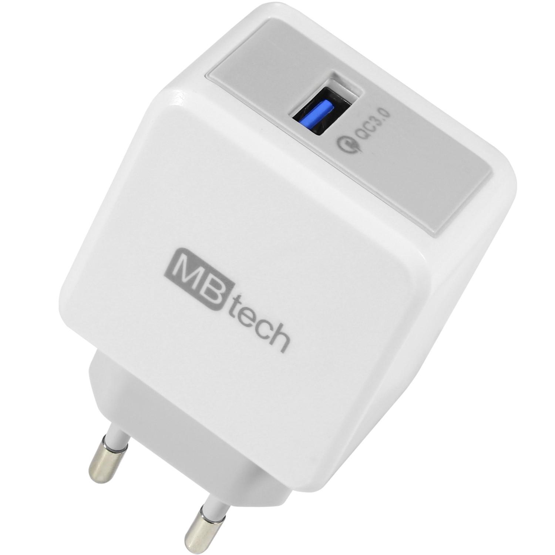 Carregador de Tomada Turbo 3.0 com Saída USB