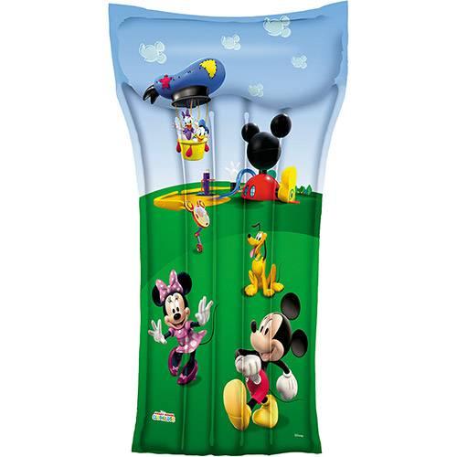 Colchão Bronzeador Inflável Mickey Mouse 119 x 61cm